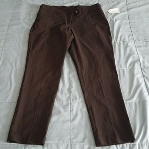 NWTS STYLE & CO TUMMY CONTROL PANT SIZE 8PS